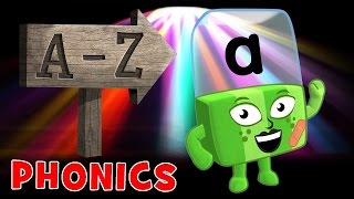 Learn to Read | Phonics for Kids | The Alphabet from A - Z