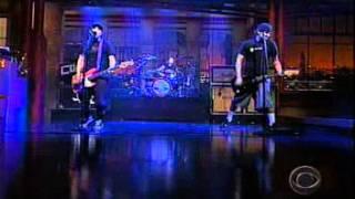 Blink 182 - Rock Show (Live on David Letterman)