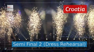 Croatia Eurovision 2017 - My Friend (Semi Final 2 Dress Rehearsal, Live in 4K) - Jacques Houdek