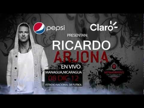 Ricardo Arjona en concierto – BLU NICARAGUA  #ArjonaNi