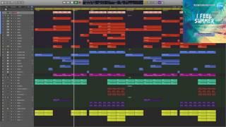 Tropical House Logic Pro X Template I Feel Summer