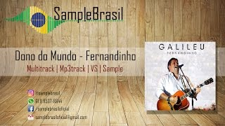 Dono do Mundo - Fernandinho | Multitrack - Vs - Mp3Track - Sample | Sample Brasil