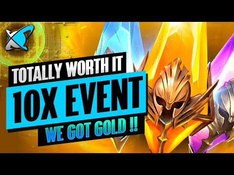 WHAT A SURPRISE... EPIC PULLS !! | 10X Event Highlights | RAID: Shadow Legends