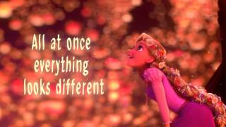Tangled - I See the Light with Lyrics