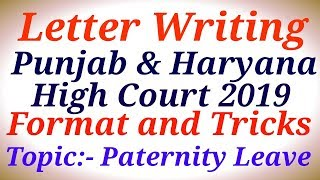 Letter Writing|Punjab & Haryana High Court 2019|Special Education