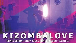 Eddy Tussa - Sacudiu | Frans & Sarah - Kizombalove Semba After Class Demo | 2016 HD