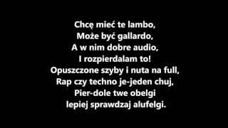 QBIK- Lambo TEKST
