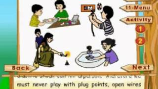 Learn Science - Class 3 - The Human Body - Safety And First Aid - Animation