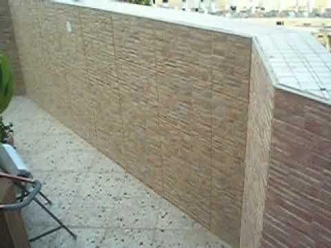 סרטון: חיפוי קירות מרפסת פנטהאוס ביבנה