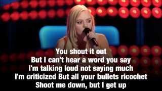 Madilyn Paige - Titanium (Lyrics) The Voice Season 6