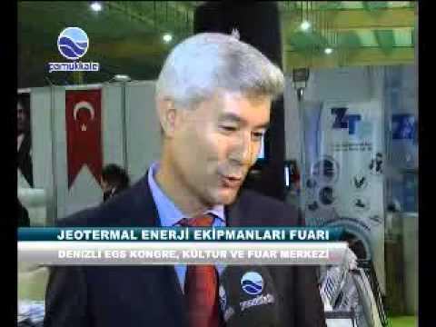 (ZTFJEOTERMAL BORU)  JEOTERMAL ENERJİ EKİPMANLARI FUARI DENİZLİ'DE AÇILDI.(PAMUKKALE TV).