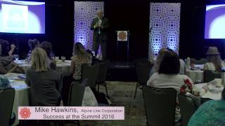 "CampExperience presents Mike Hawkins ""live"" from Success at the Summit 2016"