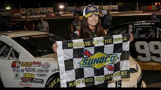 Deegan becomes first woman to win NASCAR K&N Pro Series race