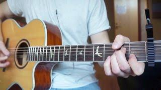 R.City - Locked Away - Guitar Cover   Mattias Krantz