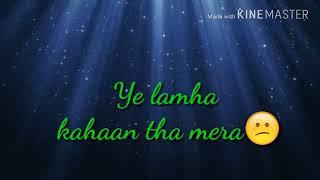 Abhi Mujh Mein Kahin ] sad WhatsApp status by Babloo status
