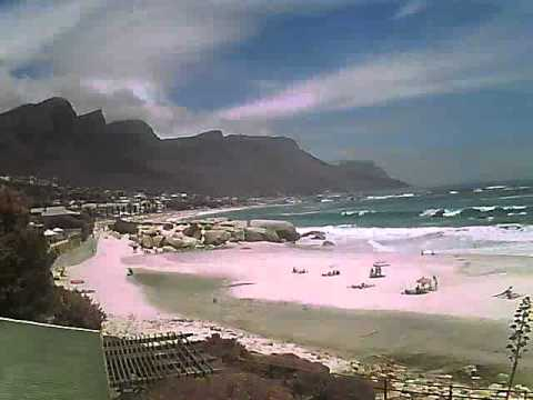 Timelapse Video – Glen Beach & Camps Bay – 16/01/2011