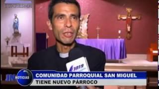 140317 Sacerdote Carlos Rosell asume parroquia en distrito de San Miguel
