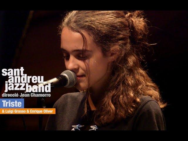 Video de Joan Chamorro con Sant Andreu Jazz Band tocando ''Triste''.