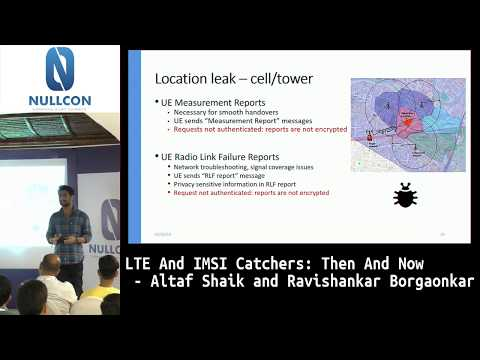 LTE And IMSI Catchers: Then And Now | Altaf Shaik
