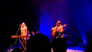 First Aid Kit - Banter about venue - Live at Royal Albert Hall, Sept 24, 2014