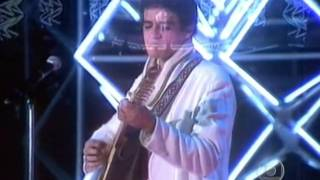 Zé Ramalho no Globo de Ouro 1985 .