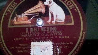 O Meu Menino - Paradela de Oliveira - 1927