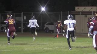 Long Beach Wilson's Jacobi Hardy with a 56-yard TD Catch and Run