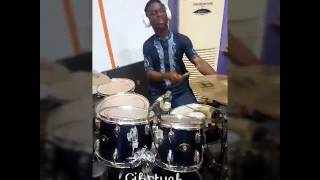 Tim Godfrey Akpo Aza Drum Cover by Gibstyck