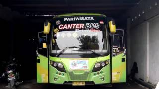 Canter BUS di garasi