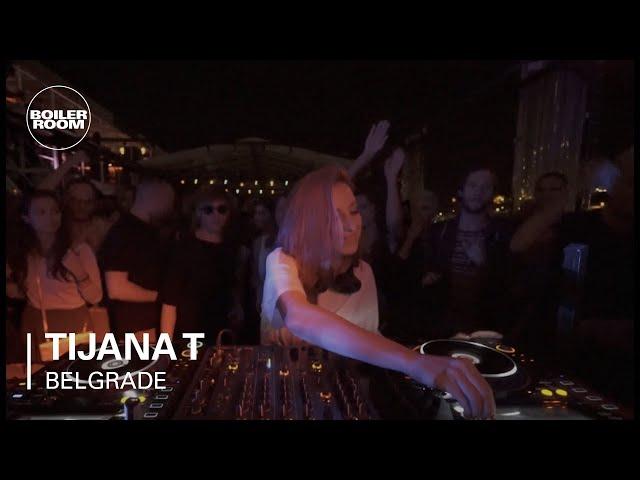 Sesión en Boiler Room de la DJ belga Tijana T