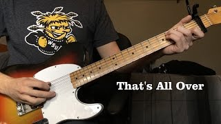 That's All Over by Johnny Cash - Luther Perkins Instrumental