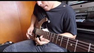 Pull Me Under - Dream Theater / Cover by Daniel Uribe Guitar Solo