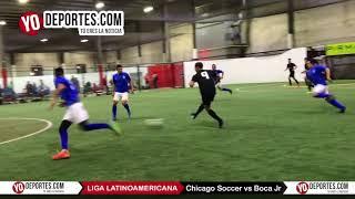 Chicago Soccer vs Boca Jr Liga Latinoamericana Champions