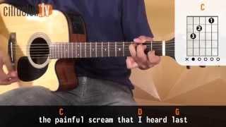 Last Kiss - Pearl Jam (aula de violão simplificada)