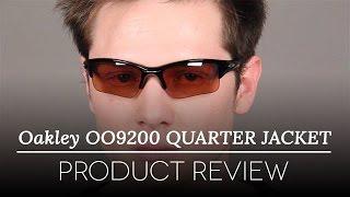 Oakley OO9200 QUARTER JACKET 920008. video