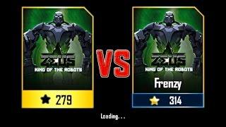 Real Steel WRB Zeus (Champion) (279) VS Zeus (Champion) (314) NEW Robot updating