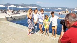 Les Kids United à Ajaccio pour tourner leur nouveau clip