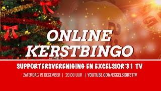 Screenshot van video Online KerstBingo Excelsior'31 | Supportersvereniging en Excelsior'31 TV