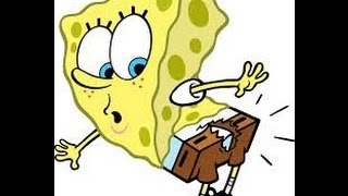Spongebob  cartoon sound effect this is hard than I thought