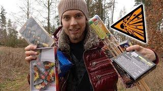 Silvester Vorfreude! - Feuerwerk im Test | Kleine Batterie, Spyder und mehr! (Teil 2)