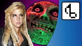 """Ke$ha Plays Majora's Mask! (""""Tik Tok"""" Parody) - brentalfloss"""