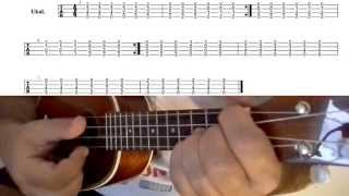Creed Owlle (ukulele cover) how to play with tabs