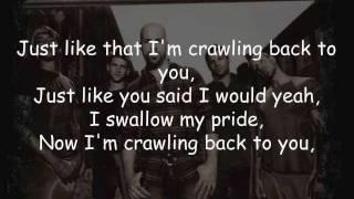 Crawling Back To You - Daughtry (Lyrics)