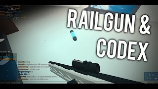 HOW TO GET THE RAILGUN AND CODEX in PHANTOM FORCES!