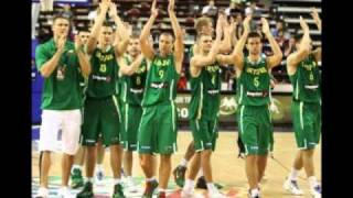 Eurobasket 2011 song (Lithuanian version)