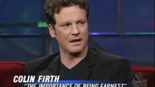 Funny Adorable Colin Firth on The Importance of Being British