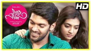 Raja Rani Tamil Movie | Arya and Nazriya Back to Back Scenes | Nayanthara | Jai | Santhanam | Atlee width=