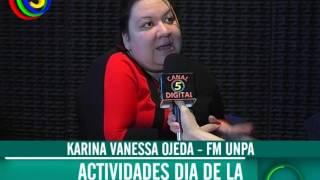 Karina Vanessa Ojeda - FM UNPA - Actividades dia de la primavera