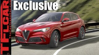 2018 Alfa Romeo Stelvio TFL Exclusive: Exhaust Note & New Alfa Revealed!