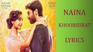 Naina – Khoobsurat Lyrics [HINDI | ROM | ENG] | Sona Mohapatra, Armaan Malik